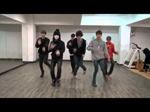 Teen Top - Crazy mirrored Dance Practice
