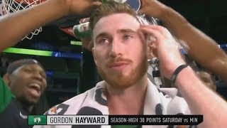 Gordon Hayward EMOTIONAL GAME After Injury That Almost Ended His Career! Celtics vs Timberwolves