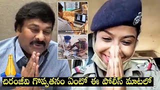 Chiranjeevi releases a video chat with Shubhasri, a Odisha..