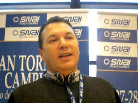 Mimmo Giacomelli al Gran Torneo di Campione di Sna