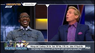 Skip and Shannon DEBATE Did Cowboys let Vikings off the hook with late game playcalling?