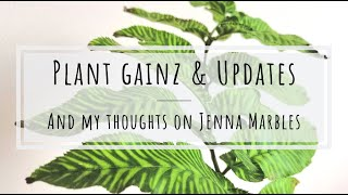 Plant gainz and my thoughts on Jenna Marbles