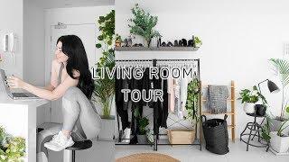 LIVING ROOM / LOUNGE TOUR (+ heaps of plants)