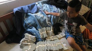 SOMEONE SENT ME $1,000,000 CASH!!!? (FREE GIVEAWAY!?)