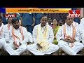Telangana CM KCR Perform Special Pooja at Yadadri Temple   hmtv Telugu News