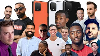 Google Pixel 4 and Pixel 4 XL: YouTubers REACT!