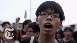 Hong Kong Protest 2014: The Evolution of Joshua Wong | The New York Times