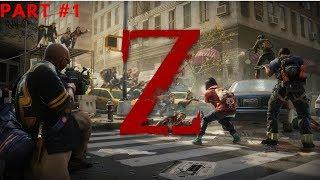 World War Z - Walkthrough Part 1 New York: Descent
