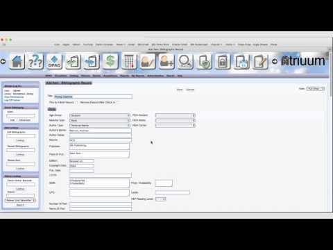 Quick Cataloging Part 3 - Advanced Quick Cataloging
