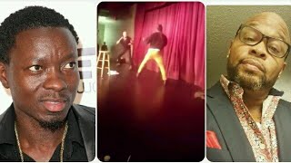 Michael Blackson React to Comic Steve Brown Getting Attacked on stage in Columbia South Carolina
