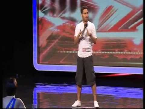 X-Factor Audition (HQ) Danyl Johnson - With A Little Help ...