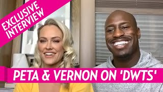 DWTS' Vernon Davis And Peta Murgatroyd Reflect On Week 1 Scores And Reveal Plans For Future Routines