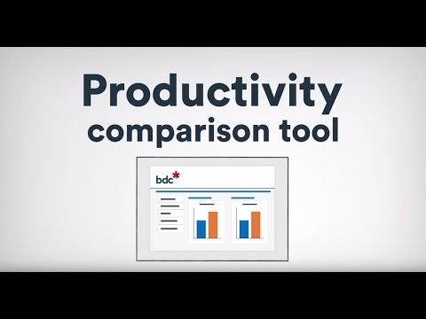 Video: New BDC benchmarking tool aims to give businesses a productivity boost
