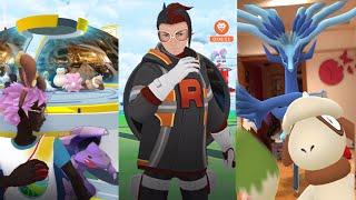 《Pokemon GO》哲爾尼亞斯GOsnapshot遇見圖圖犬!迎戰火箭隊亞洛!佔領黃隊道館!ゼルネアス Xerneas!