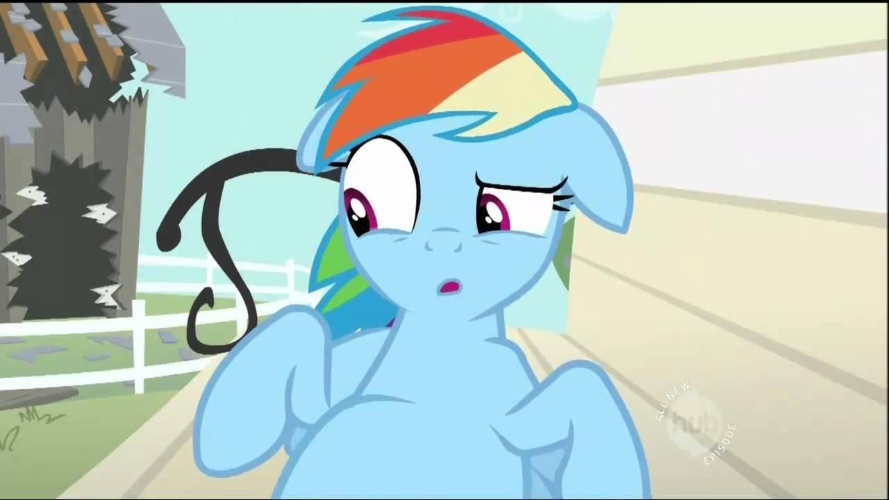 Rainbow Dash is full | My Little Pony: Friendship is Magic