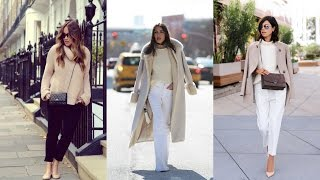 17 Warm and Casual Sweater Outfit Ideas - Winter Street Style