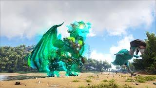 ARK SURVIVAL EVOLVED # 38: Super boss Dragon God(Rồng Nam mỹ )