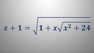 Iracionalna enačba 6