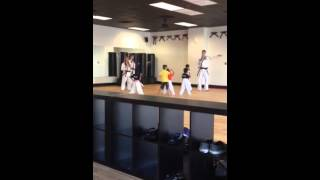 Mark and Blake karate 7-40-14