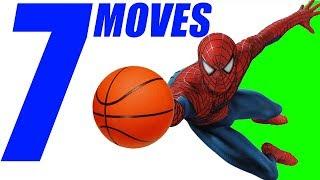 7 SPIDERMAN Basketball Moves Tutorial! EMBARRASS Defenders!