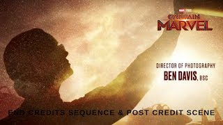 CAPTAIN MARVEL (2019) | End Credits & Post Credit Scene - Full HD
