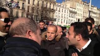 Altercation entre des partisans et des opposants à Bouteflika à Marseille