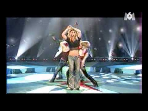 Britney Spears - Overprotected (Live)