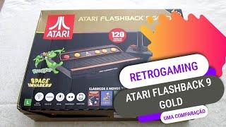 Jogos: Atari Flashback 9 Gold