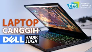 Jalan-jalan di Booth Dell, Ada Laptop Gaming Alienware? | Booth Tour Dell CES 2019