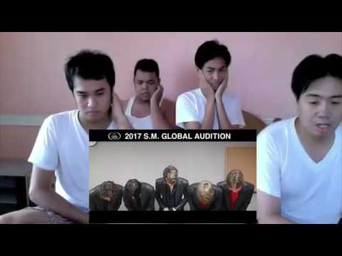 Ten NCT / fanboy funny reaction / (SM GLOBAL AUDITION)