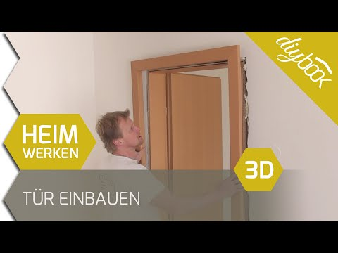 t r einbauen zarge einbauen 3d. Black Bedroom Furniture Sets. Home Design Ideas