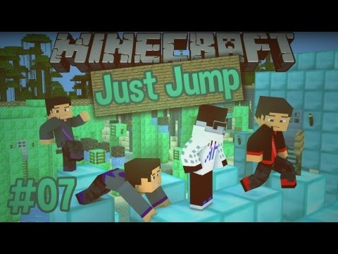 Minecraft: Just Jump - Episode 7 - DIAMOND COURSE IS PRETTY! - Smashpipe Games