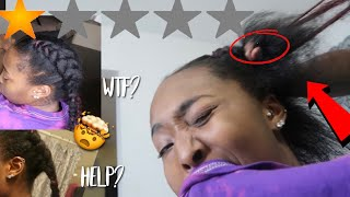 I WENT TO THE WORST REVIEWED BRAIDER IN MY CITY | ATLANTA
