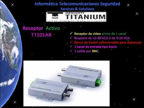 Soluciones para la transmisión de Video, Audio, Datos, Poder por UTP 2013