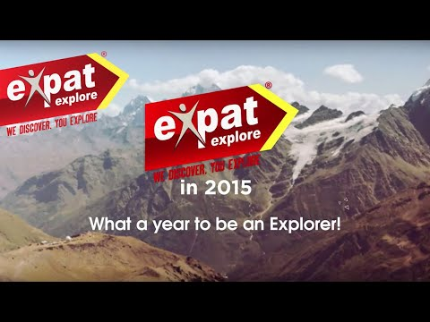 Expat Explore in 2015 - What a year to be an Explorer