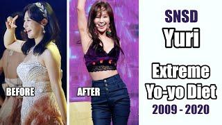 SNSD Yuri - Extreme Yo-Yo Dieting Story 2007 - 2020