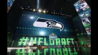 THREE mock draft simulations for the Seahawks