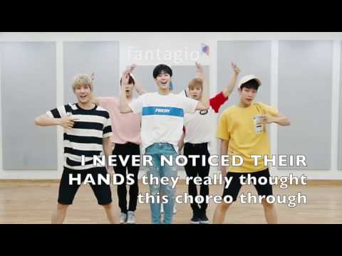 ASTRO - Breathless Dance Practice (What You Probably Didn't Notice / Fangirl Version)