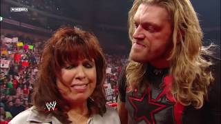 John Cena shows some embarrassing footage to Edge: Raw, Mar. 9, 2009
