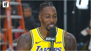 Dwight Howard on Coming Back to the Lakers, Full Interview | 2019 NBA Media Day