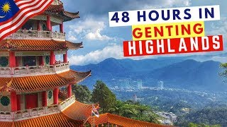 What To Do In Genting Highlands Malaysia   Zombie Apocalypse Park   Chin Swee Temple   Travel Couple