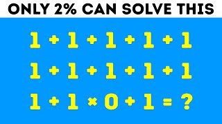 9 Math Riddles That'll Stump Even Your Smartest Friends