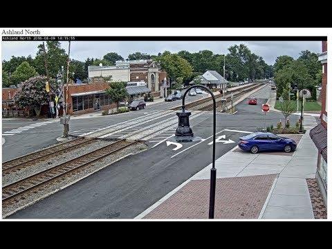 Ashland, VA - Virtual Railfan LIVE