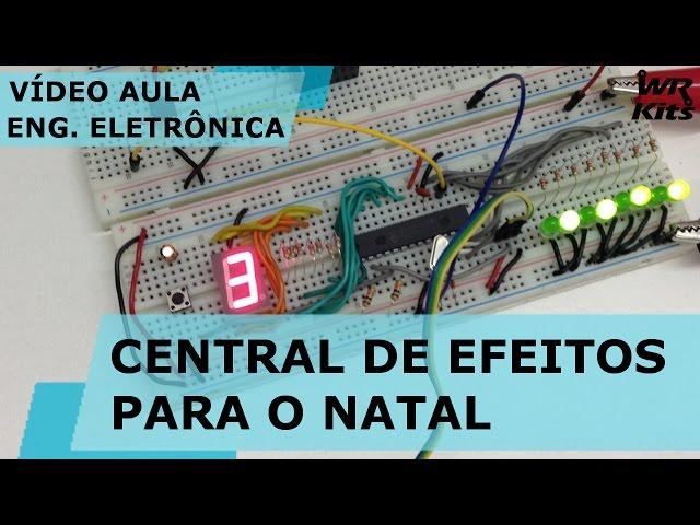 CENTRAL DE EFEITOS PARA O NATAL (HARDWARE) | Vídeo Aula #147