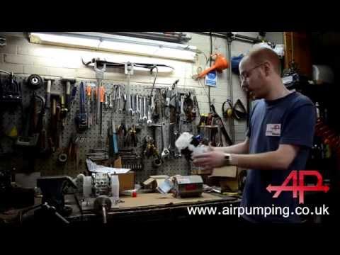 "ARO / Ingersoll Rand New!! PD01P 1/4"" Diaphragm Pump Comparison"