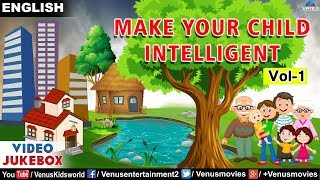 Make Your Child Intelligent   VIDEO JUKEBOX   Lessons For Kids   Animated Videos - Kids Special