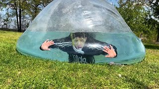 Swimming In The Worlds Biggest Fish Bowl