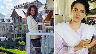 Police deployed at Kangana Ranaut's Manali residence after..