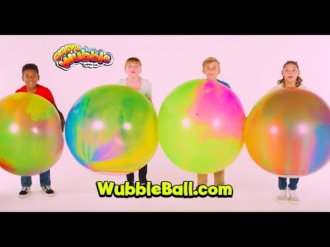 Silly fun for the whole family, Groovy Wubble looks like a bubble, but plays like a ball! Squishy, lightweight, soft and gentle, it molds around whatever it touches, then bounces away, leaving laughter in its wake!