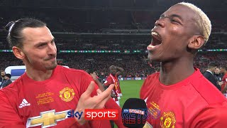"""""""I came for free, they bought you!"""" - Zlatan Ibrahimovic & Paul Pogba joking with each other"""